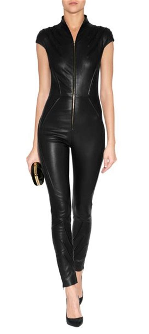 Jumpsuit Black Bangkok the 25 best leather jumpsuit ideas on leather bodysuit panther costume and