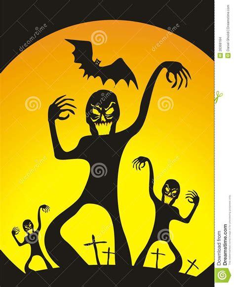 halloween zombies stock illustration image  zombie