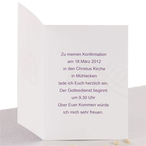 Einladung Zur Hochzeit Text by Einladungskarten Konfirmation Text Einladung
