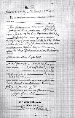 German Birth Records Cubbage Genealogy German Birth Records Translated
