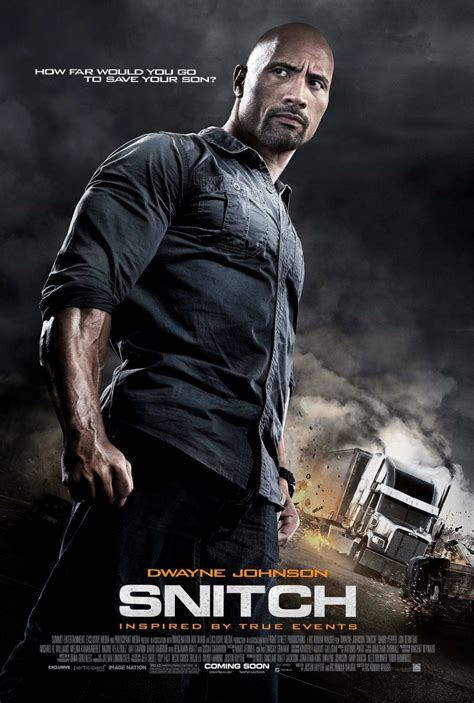 The Snitch An Crime Story poster for snitch starring dwayne johnson cinema vine