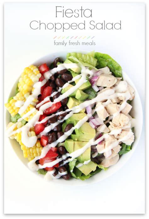 Salad Buah Keju Family Pack chopped salad family fresh meals
