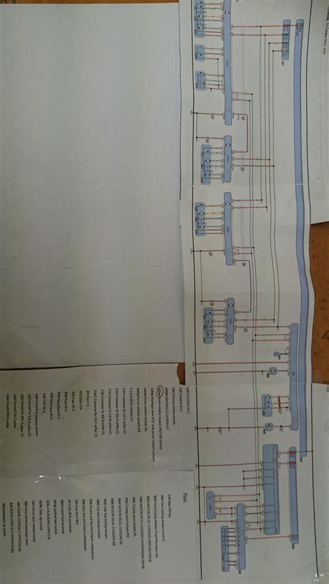 central locking wiring diagram golf 4 wiring diagram