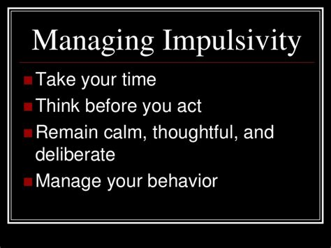 Managing Impulsivity Worksheets by The Habits Of Mind Pdf