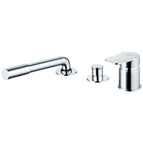 Mixer Trio product details a6349 3 single lever bath shower