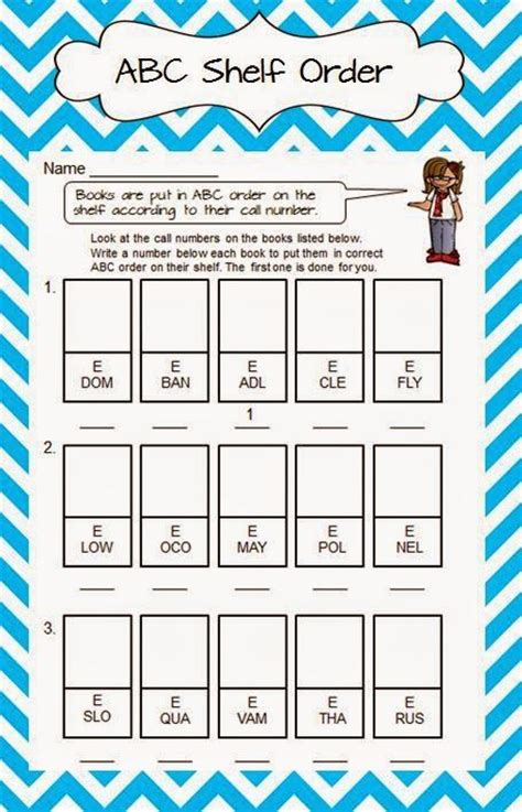 Library Worksheets by 1000 Images About Library Activities On