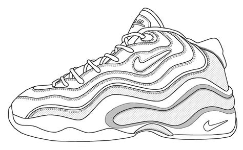 printable coloring pages nike shoes jordan shoes coloring pages coloring home