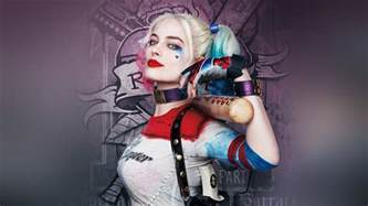 as34 squad poster film art hall harley quinn wallpaper