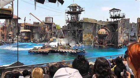 film terbaru universal studio hollywood waterworld stunt show science fiction film