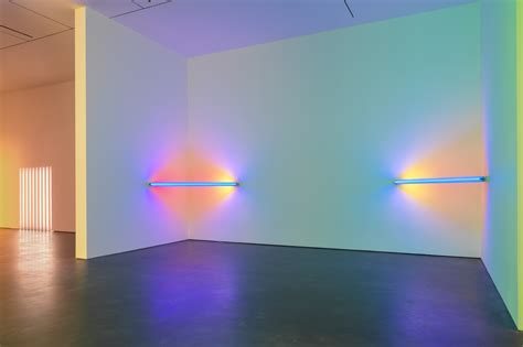 as lights light as corners barriers and corridors by dan flavin