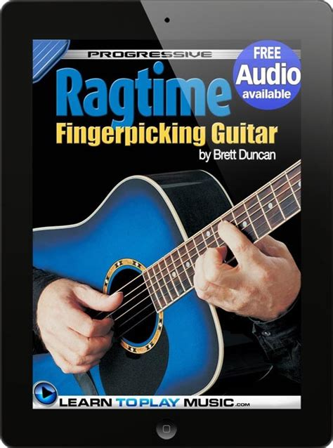 learn guitar yourself how to play guitar ragtime fingerstyle guitar lessons