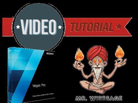 tutorial completo sony vegas pro 13 come usare sony vegas pro 13 tutorial completo t 16 youtube