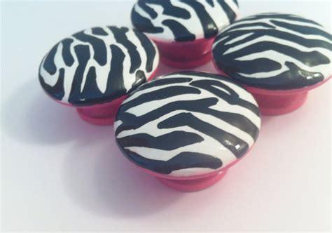Zebra Dresser Knobs by