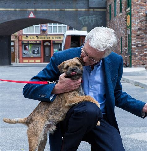house of a dog is called paul o grady escorts dog for coronation street part daily mail online
