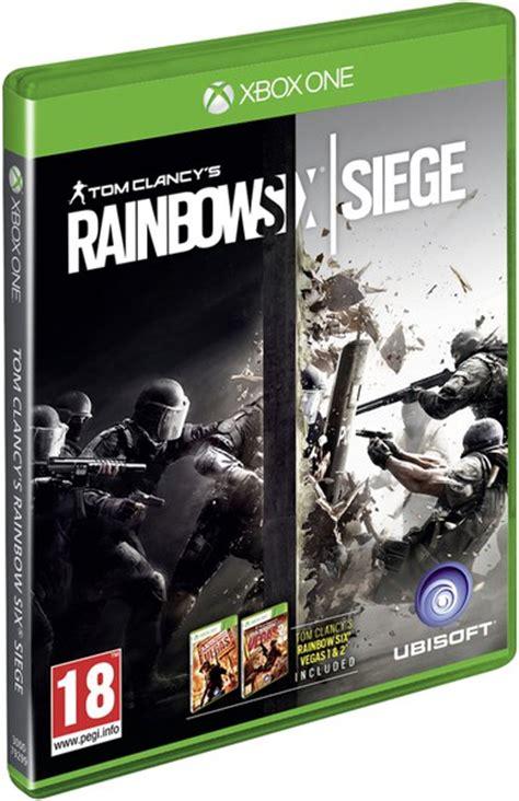 tom clancy s rainbow six siege xbox one fr zavvi