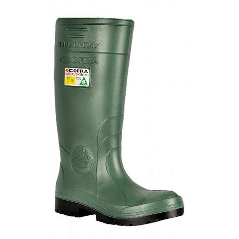 steel toe rubber boots cofra 00010 cu8 sd pr insulated steel toe rubber