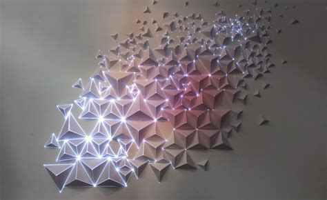 Origami Light - paper and light joanie lemercier