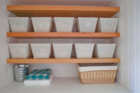 reath design the container store open canvas bins transitional laundry room reath design
