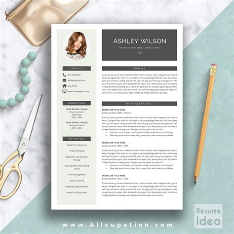 resume cover letter templates word creative modern resume template in word creative resume