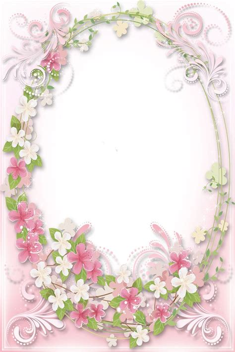 Soft Bordir Flower 2 328 best clip frames printables images on moldings writing paper and picture