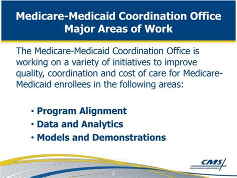 Medicaid Offices by Ppt Coordinating Care For Medicare Medicaid Enrollees