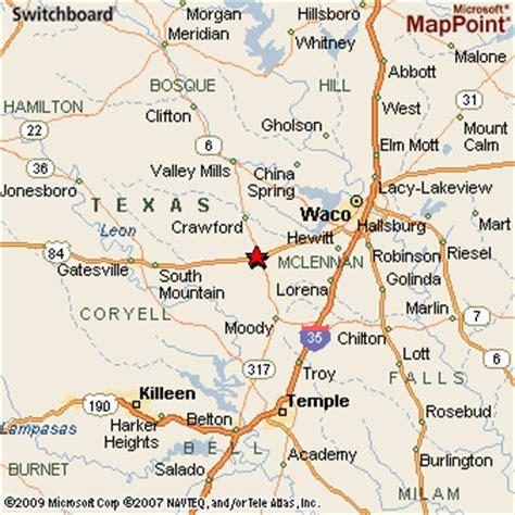 mcgregor texas map mcgregor texas