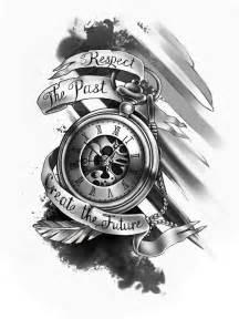 Tattoo designs taschenuhr tattoo vorlage tattoos uhr uhren tattoo