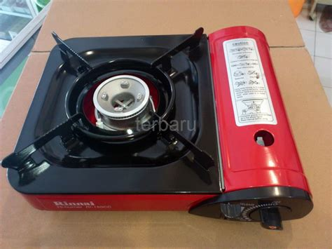 Kompor Gas Terbaru jual terbaru kompor gas portable rinnai ri 150 cc harga