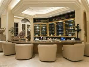 home bars room decor: wet bar cabinets with soft furniture  stylish home bar ideas