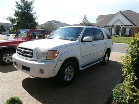 Seelye Wright Kia Of Battle Creek by Sell Used 2005 Toyota Sequoia Sr5 4x4 Suv 4 7l V 8