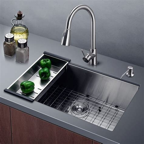 Commercial Stainless Steel Kitchen Sink Harrahs 30 Inch Commercial Stainless Steel Kitchen Sink 187 Petagadget