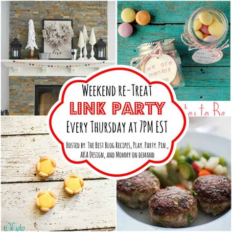 The Weekend Link by The Weekend Re Treat Link