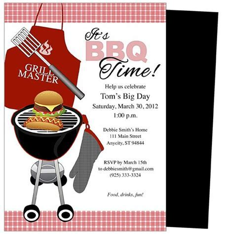 Summer BBQs Invitations   Creative Media Web   Party