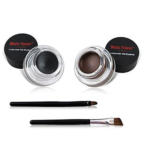 gaga fashion 2 in 1 brown and black waterproof gel eyeliner cosmetics set ucanbe beautil