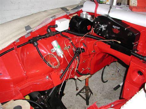 mg rebuild   wiring harness