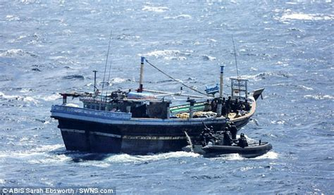 fishing boat online india royal navy discovers drug haul of heroin on four fishing