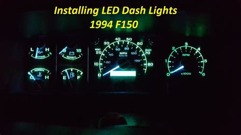 how to put lights on your car how to install led dash lights glow to your dash