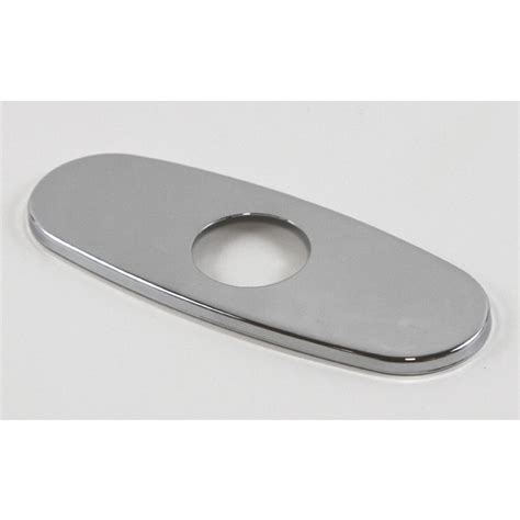 Faucet Cover Plate by Polished Chrome Bathroom Vessel Sink Faucet Cover