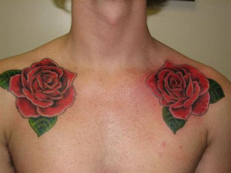 rose collar bone tattoo 40 fantabulous collar bone tattoos slodive