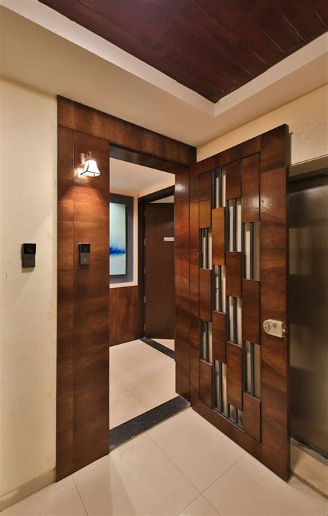designer safety door  aarayishh modern wood wood effect
