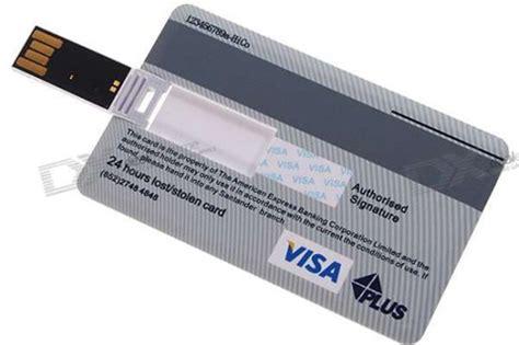 bench credit card credit card usb flash drive 1 design per day