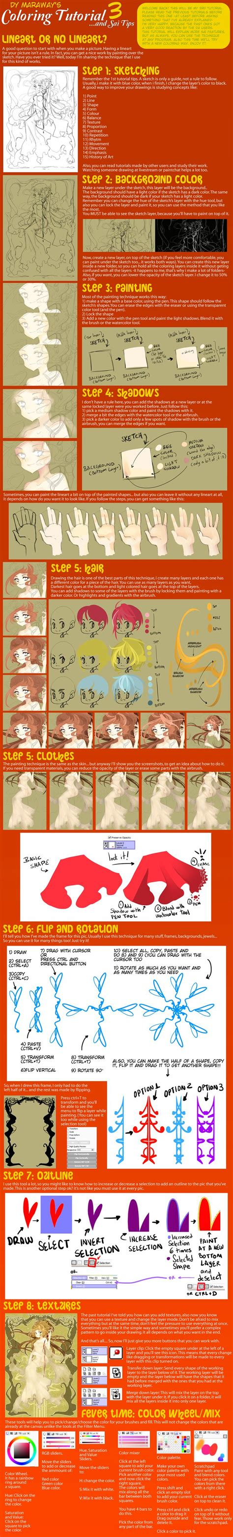 paint tool sai tutorial clothes 507 best images about anime clothing on