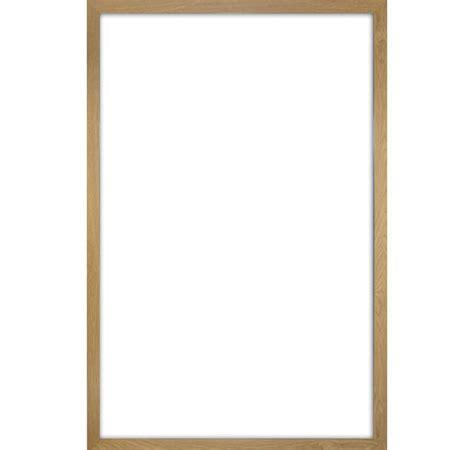 cornici 61x91 cadre pour poster en plastique effet bois clair grand