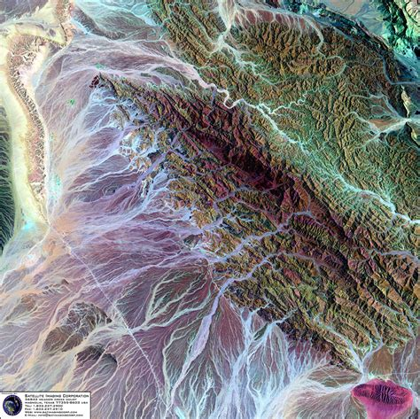 landsat  satellite image  oman satellite imaging corp