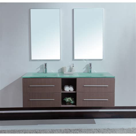 modern bathroom sink vanity calypso 60 inch modern sink bathroom vanity unique