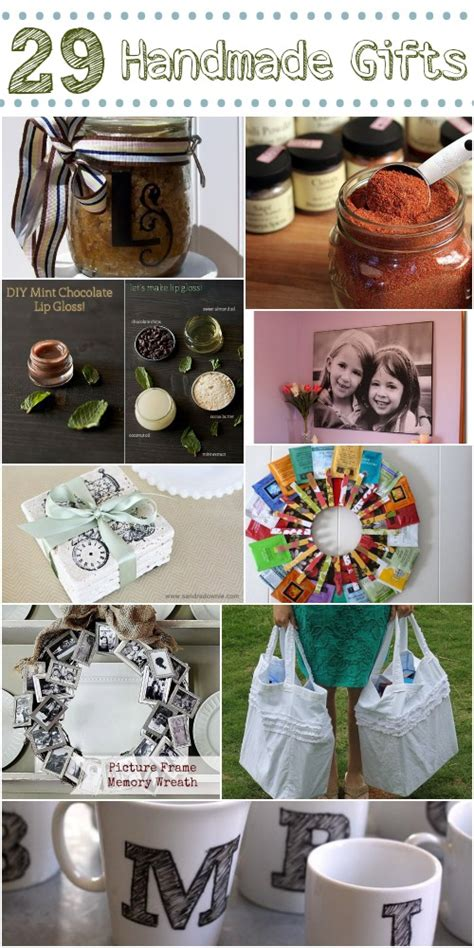 Ideas For Handmade Presents - diy gift ideas 29 handmade gifts home stories a to z