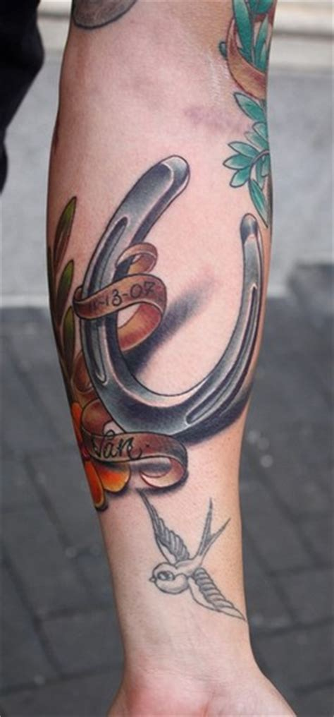 farrier tattoo designs horseshoe tattoos for pictures to pin on page 2