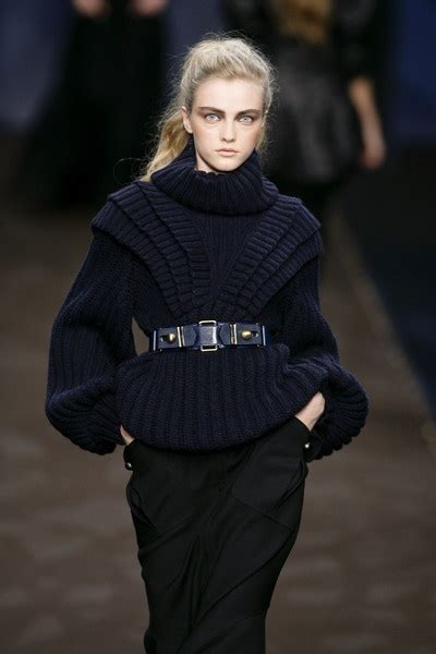 Sweater Jumper Cp Ac Milan Black fendi fall 2008 runway pictures fendi knitwear and runway