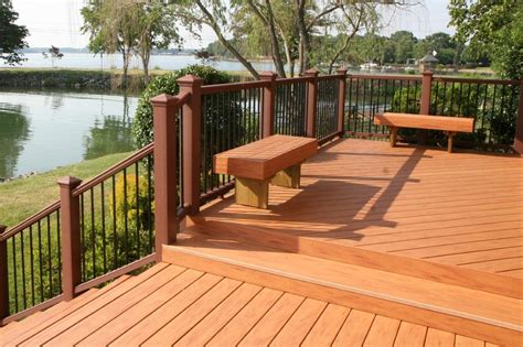 exterior design and decks composite deck composite deck design pattern