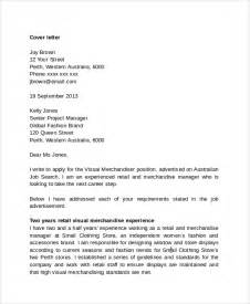 Cover Letter Retail by Sle Retail Management Cover Letter 6 Free Documents